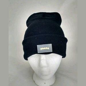 fb7ed4c7b7d unbranded Accessories - Light Up LED Black Knit Winter Ski Beanie Hat Cap